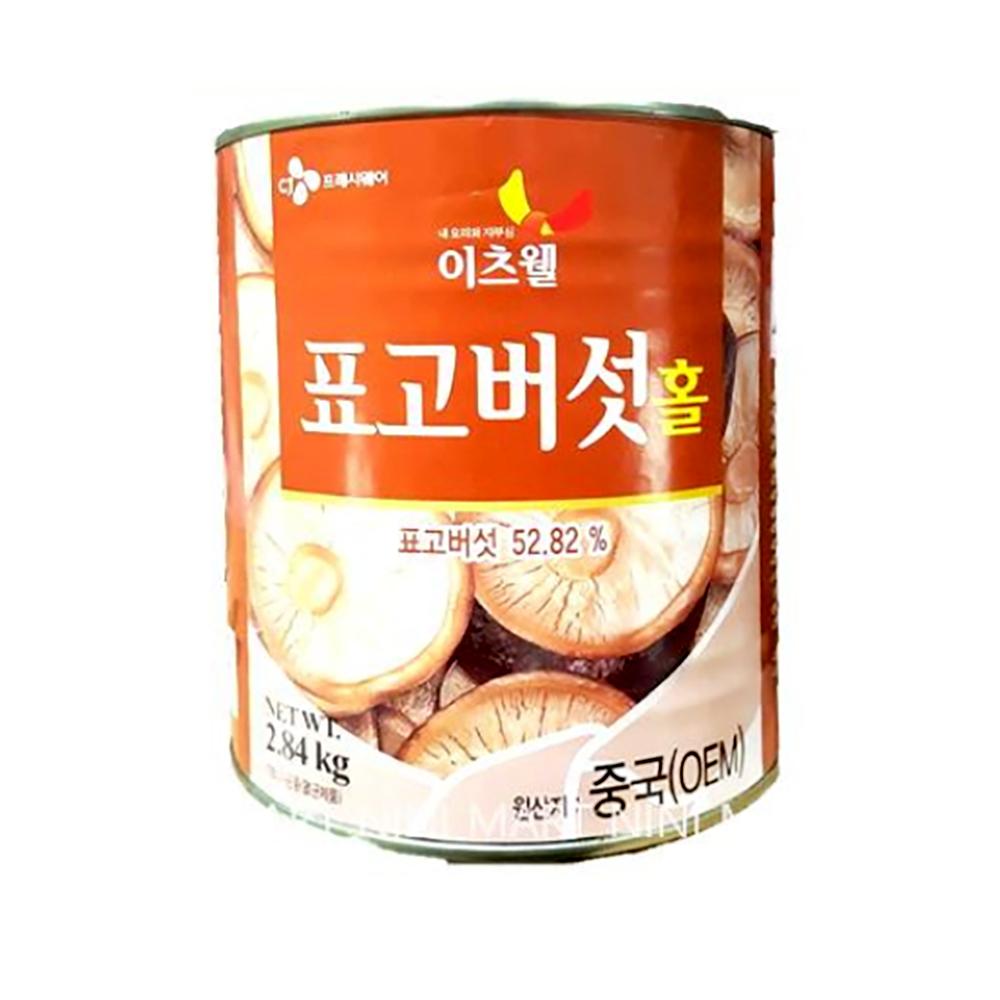 표고버섯캔 홀(이츠웰 2.84K) 버섯통조림 표고버섯 통조림 벌크 버섯 중식 중화요리 중국집