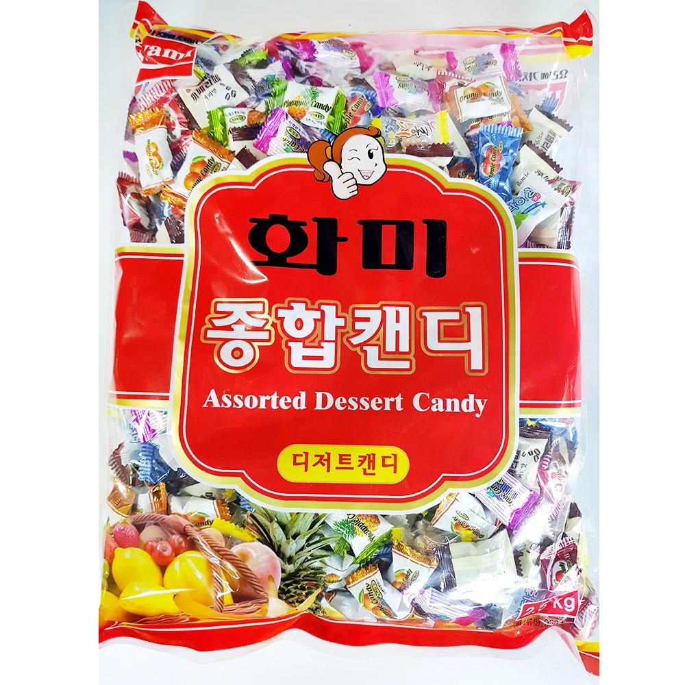 종합캔디(화미 2.5K) 사탕 박하사탕 누드사탕 누드박하 누드박하사탕