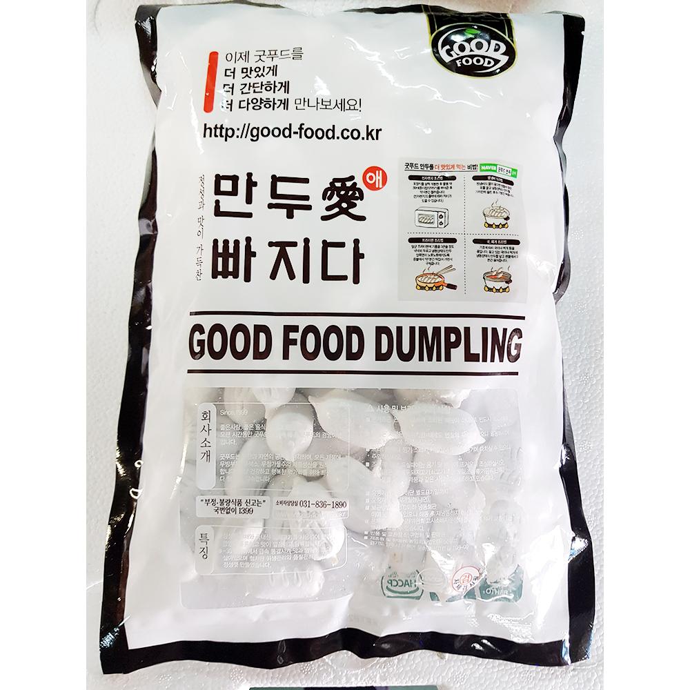 옹심이(도투락 1K) 옹심이만두 만두 즉석식품 간식 고기만두 꼬물이만두