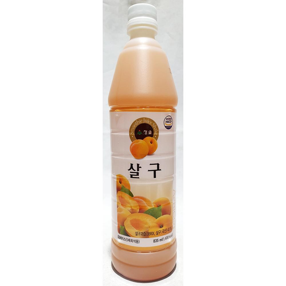 살구원액(청솔 835ml) 과즙원액 음료원액 통조림 살구원액캔 살구베이스