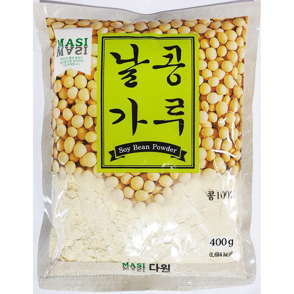 날콩가루(다원 400g) 콩가루 생콩가루 날콩분말 콩가루