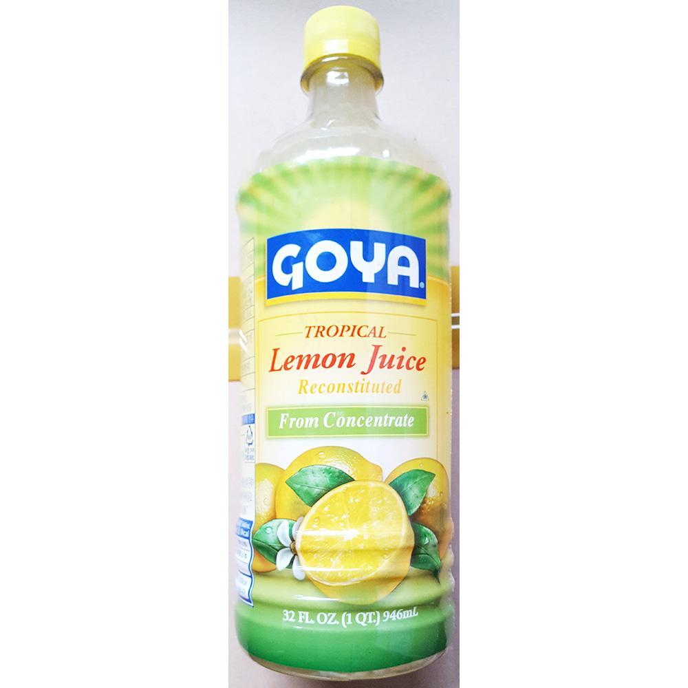 레몬주스(고야 946ml) 주스 액상음료베이스 레몬쥬스