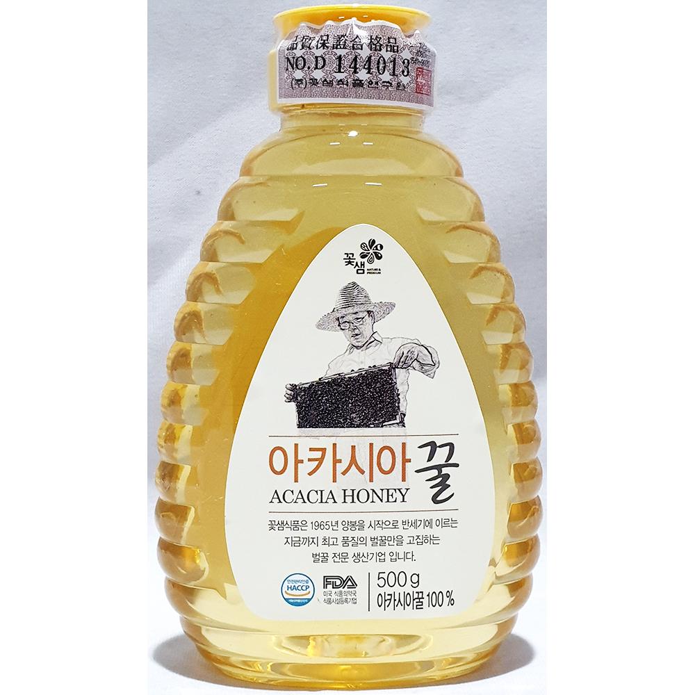 아카시아꿀(꽃샘 500g) 벌꿀 꿀 꽃샘아카시아꿀