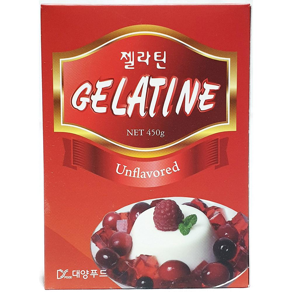 젤라틴(대양 분말 450g) 젤라틴분말 대양 젤라틴 젤라틴가루