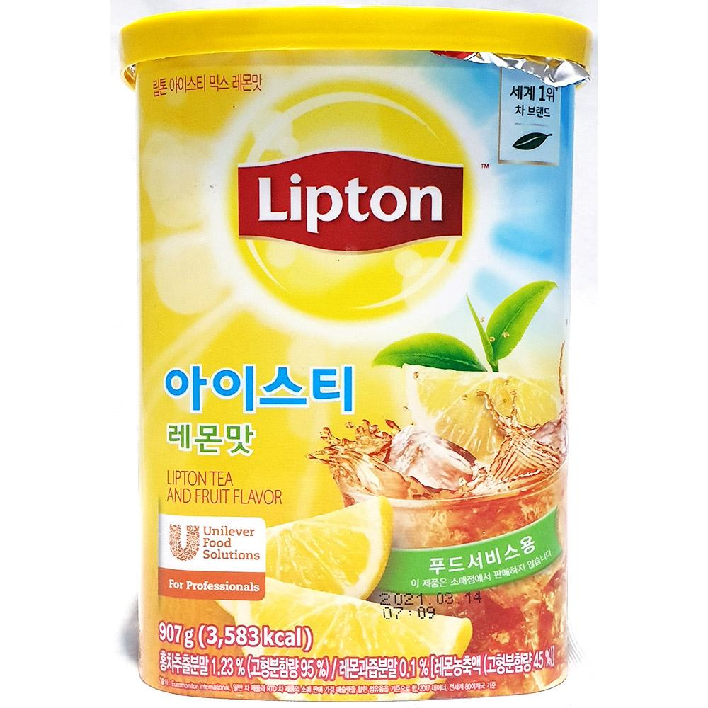 아이스티믹스레몬맛(립톤 907g) 아이스티 립톤아이스티 아이스티레몬믹스 아이스티레몬분말