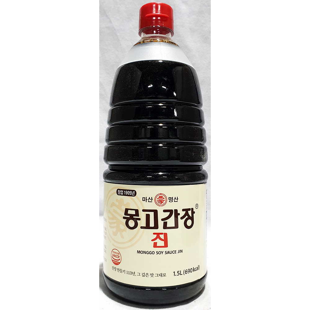 몽고 진간장(마산명산 1.5L) 소용량간장 마산몽고진간장 몽고진간장 맛간장