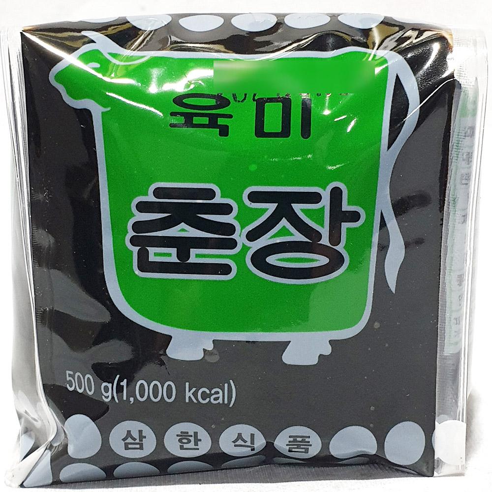 육미춘장(삼한 500g) 중국요리 중식춘장 춘장소용량 짜장면