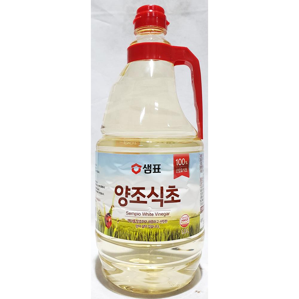 양조식초(샘표 1.8L) 샘표양조식초 소분식초 가정용식초 새콤한맛