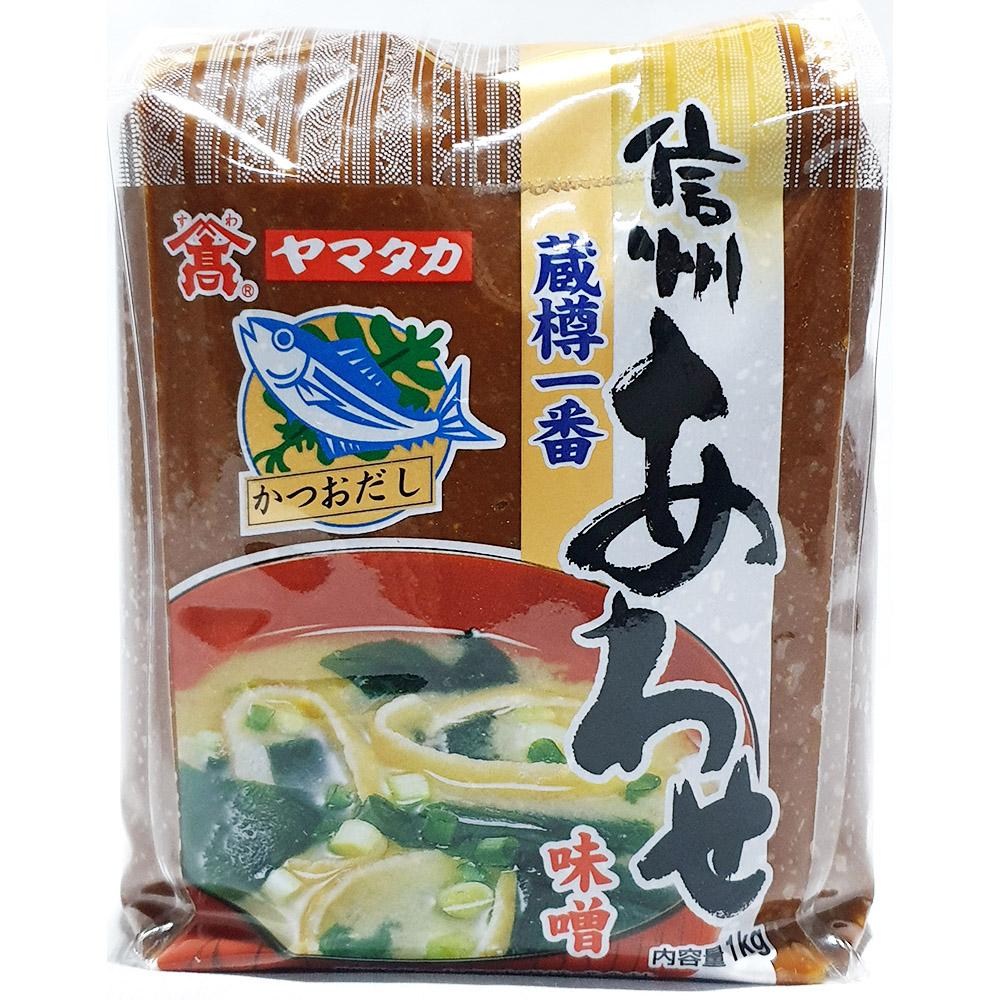 신슈 아와세된장(야마타카 1K) 콩재래된장 믹스된장 신슈아와세된장