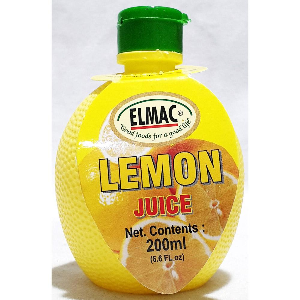 레몬주스(엘막 200ml) 주스 액상음료베이스 레몬쥬스