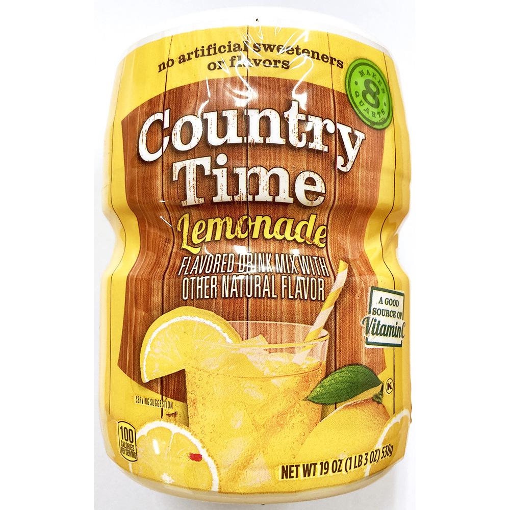 레몬가루(컨츄리타임 538g) 레몬분말 음료베이스 컨츄리타임레몬가루