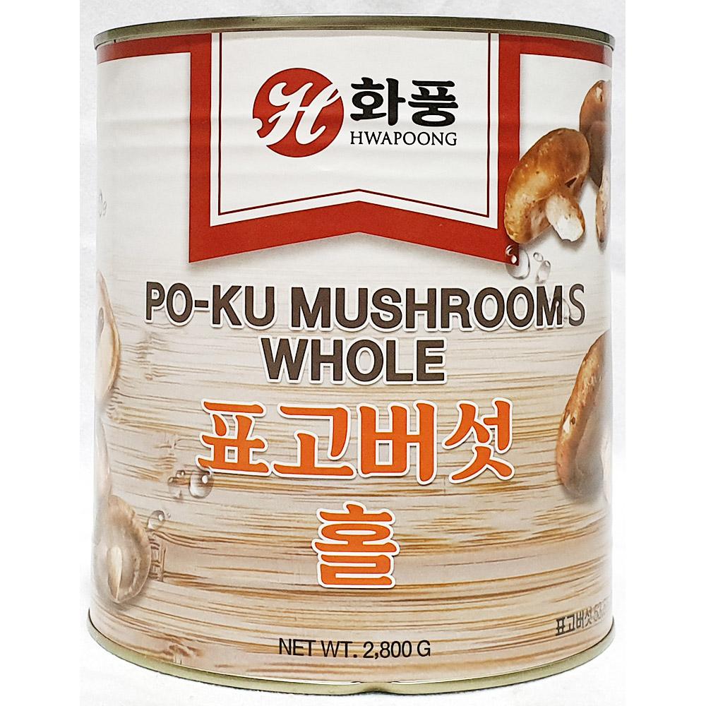 표고버섯홀(화풍 2.8K) 버섯통조림 표고버섯홀 버섯캔 중식캔