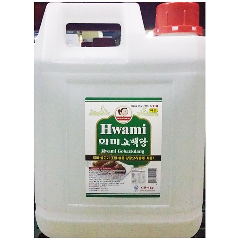 이온물엿(화미 9K) 이온물엿 하얀물엿 투명물엿 말통