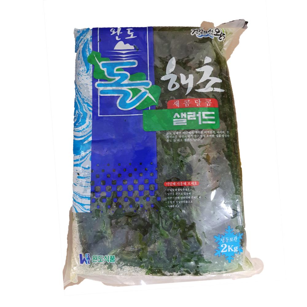 해초샐러드(돌해조 2K)X6 해초무침 냉동수산물 수산물 돌해초