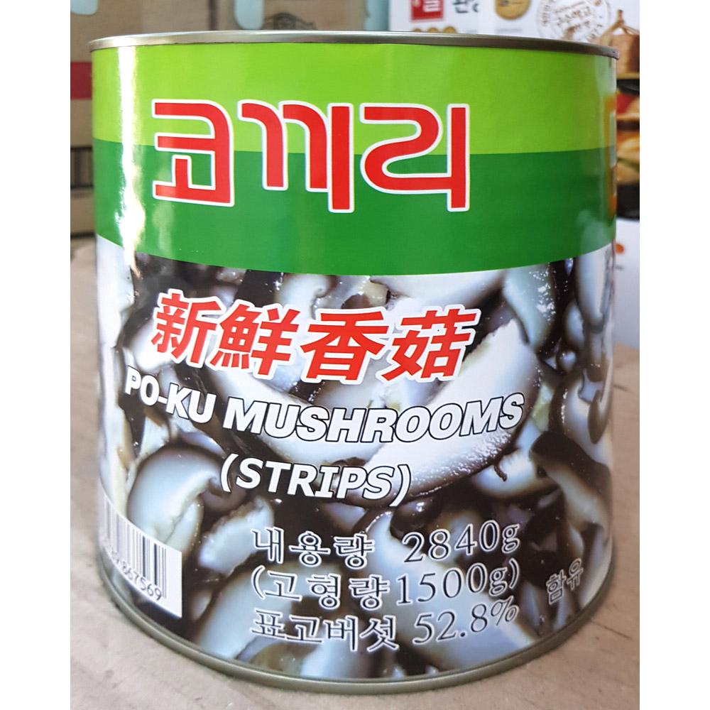 표고버섯채(코끼리 2.84K) 표고버섯캔채 버섯캔 버섯통조림 표고버섯 통조림 코끼리 표고버섯채