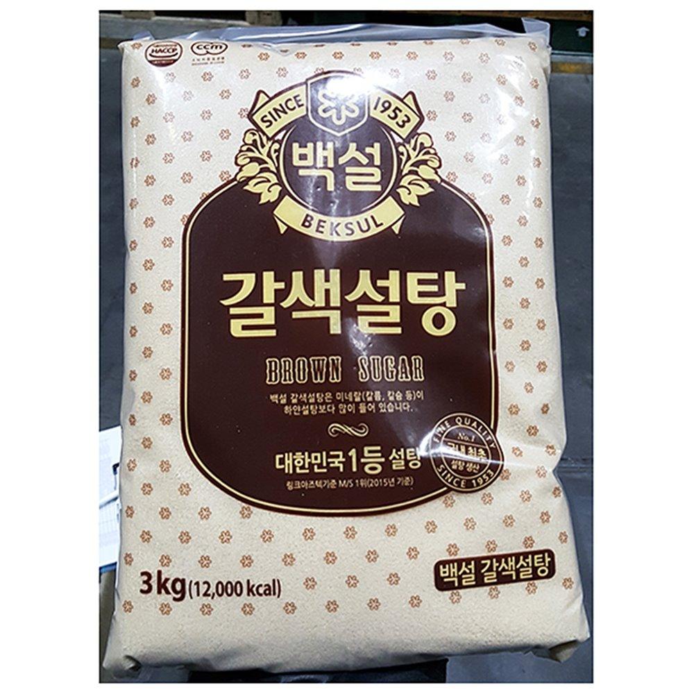 황설탕(백설 3K) 갈색설탕 백설 갈색설탕 매실