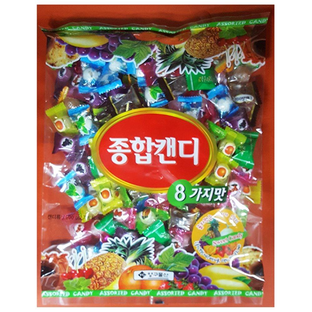 종합사탕(양구 혼합 700g) 양구사탕 종합사탕 누드사탕 누드박하 누드박하사탕