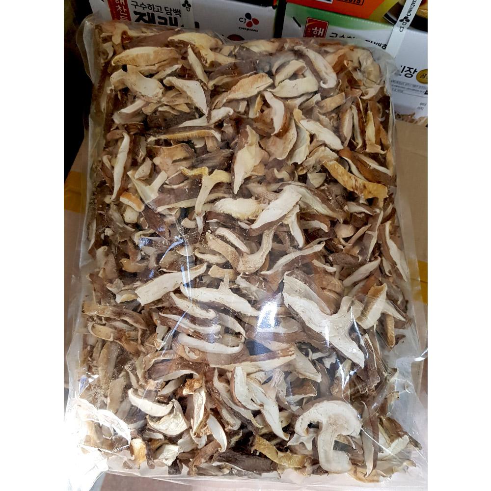 건표고슬라이스(진명 1K) 건표고버섯 표고버섯 건표고슬라이스