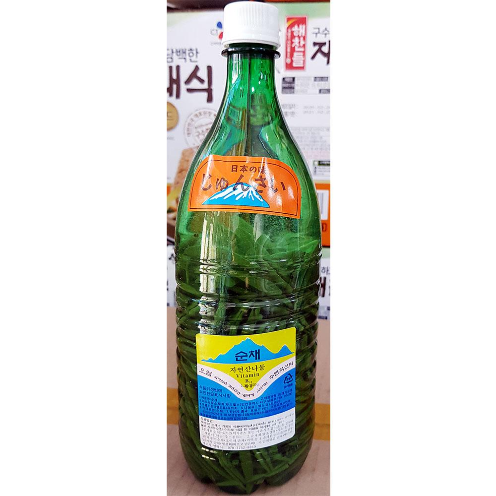 순채(영월 1.5K) 자연산 나물 영월 순채 식재료 준사이