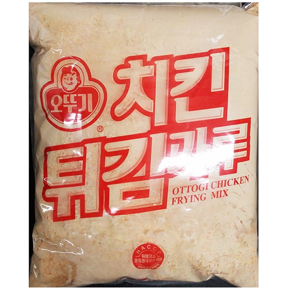 치킨튀김가루(오뚜기 5K)X4 튀김가루