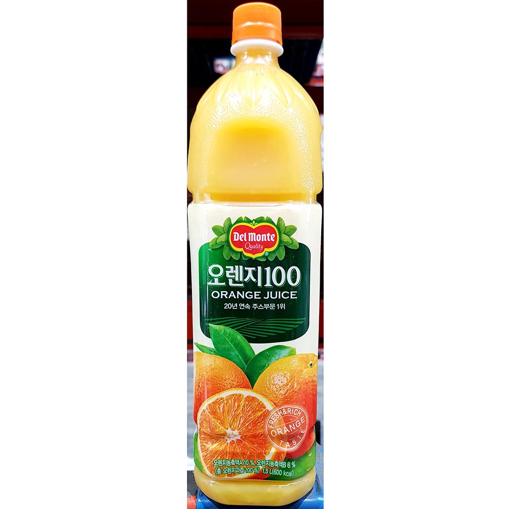 오렌지주스(델몬트 1.5L) 오렌지음료
