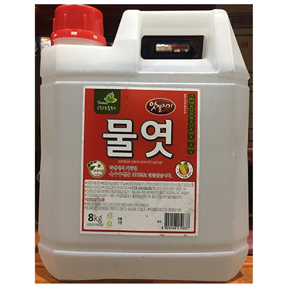 [더산식자재]흰물엿(맛깔 8k)