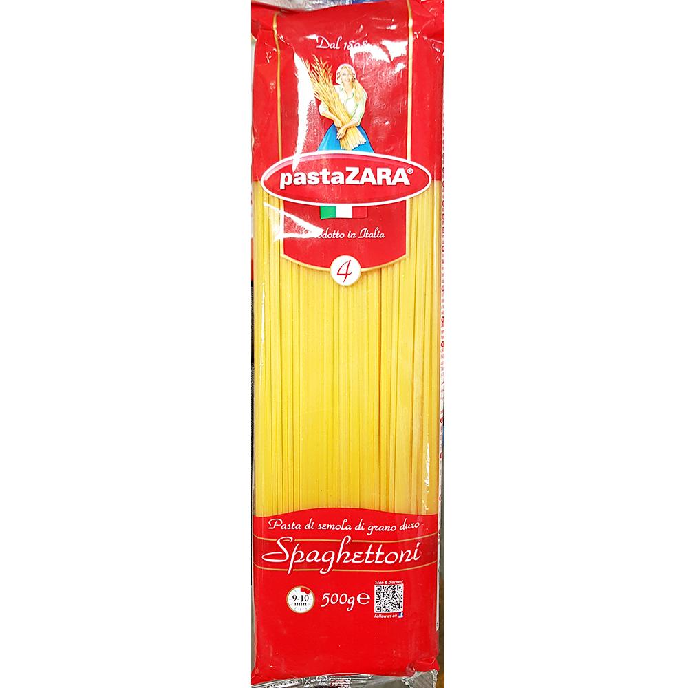 스파게티(자라 4번 500g) 자라파스타 자라스파게리 스파게리 자라파스타면국수/면