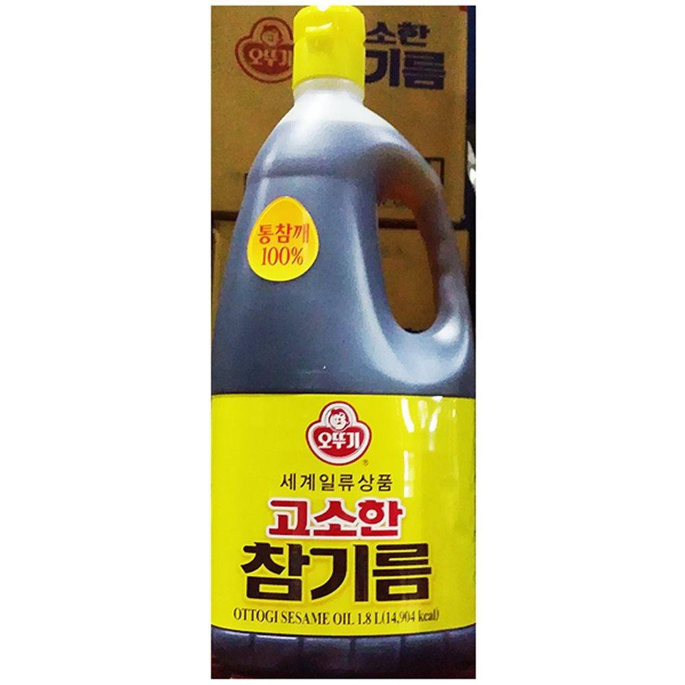 고소한참기름(오뚜기 1.8L) 참기름