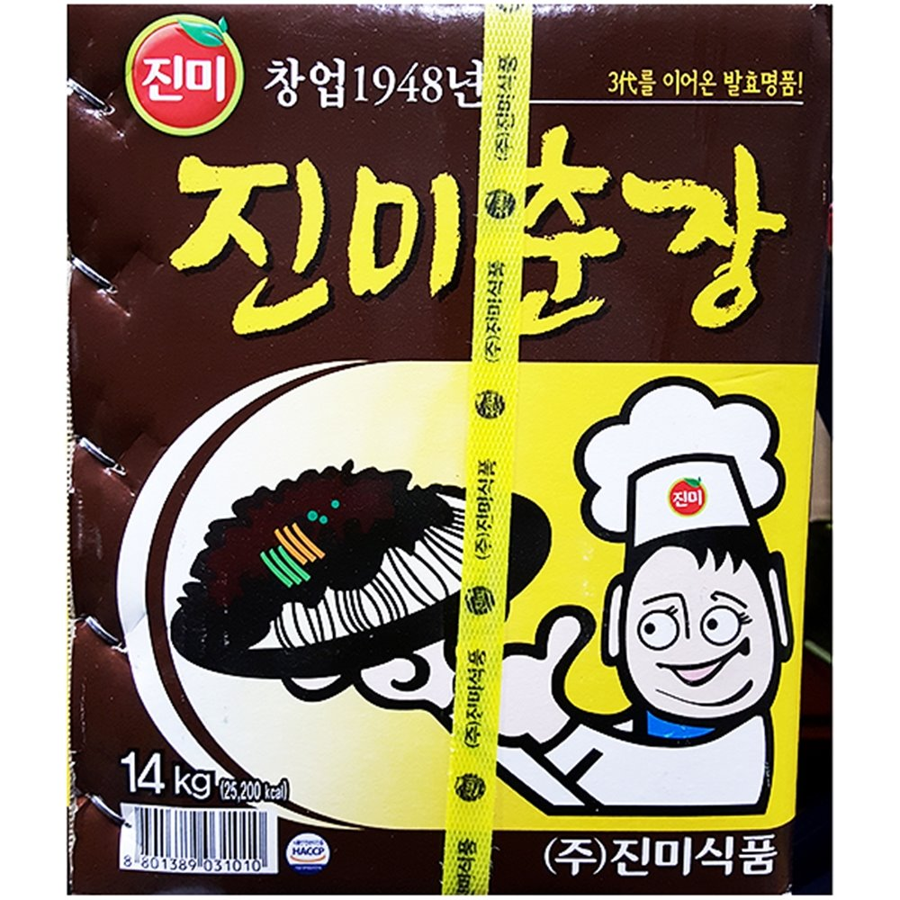 춘장(진미 14K) 춘장 중식춘장 중국집춘장 말통