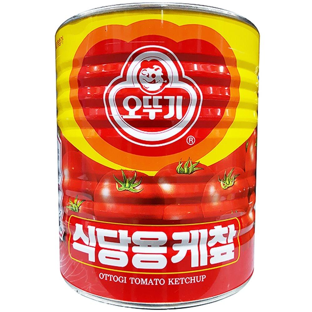 토마토케찹(오뚜기 3.3K) 케찹 토마토케찹 캔