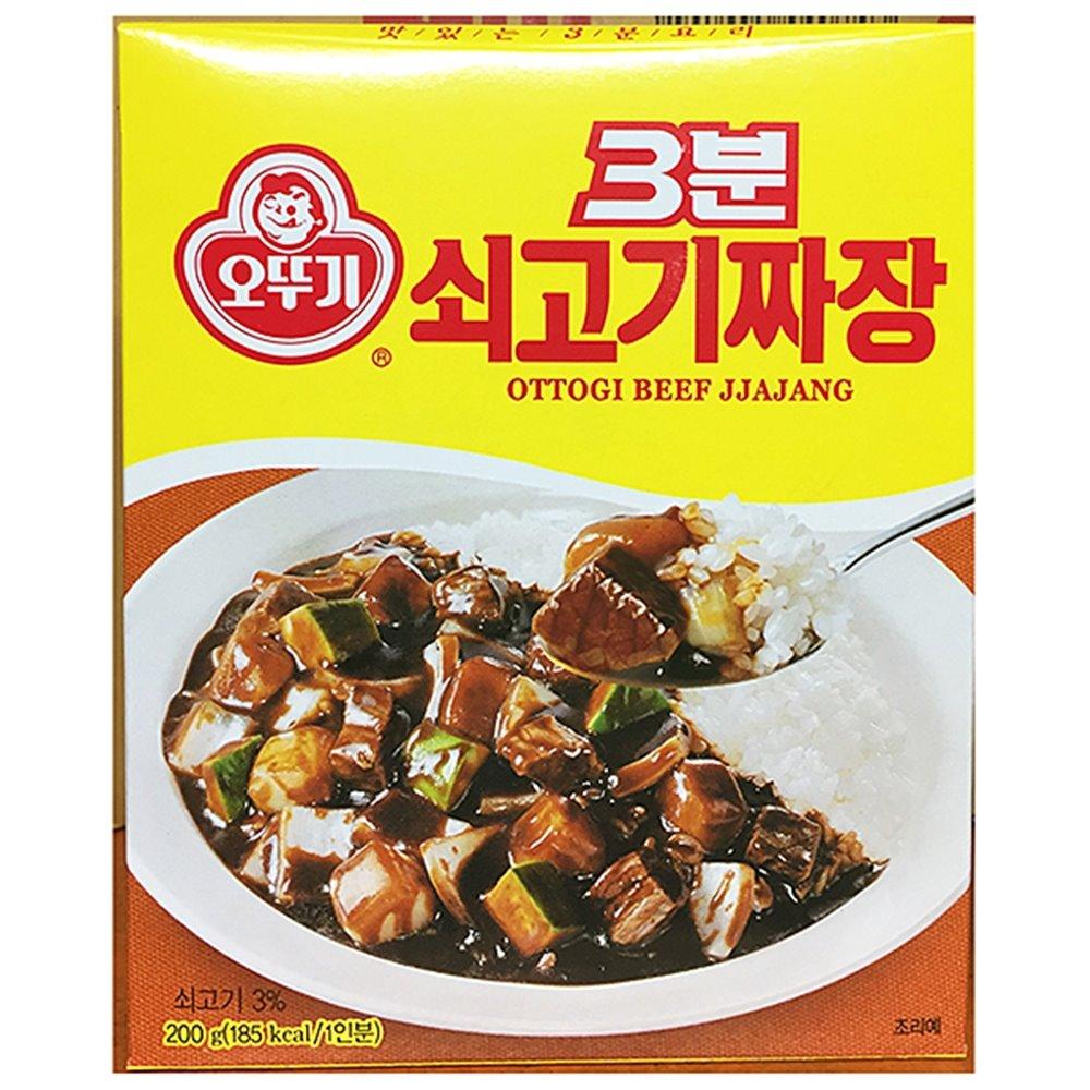 쇠고기 3분짜장(오뚜기 200gx24) 짜장 3분짜장 쇠고기짜장