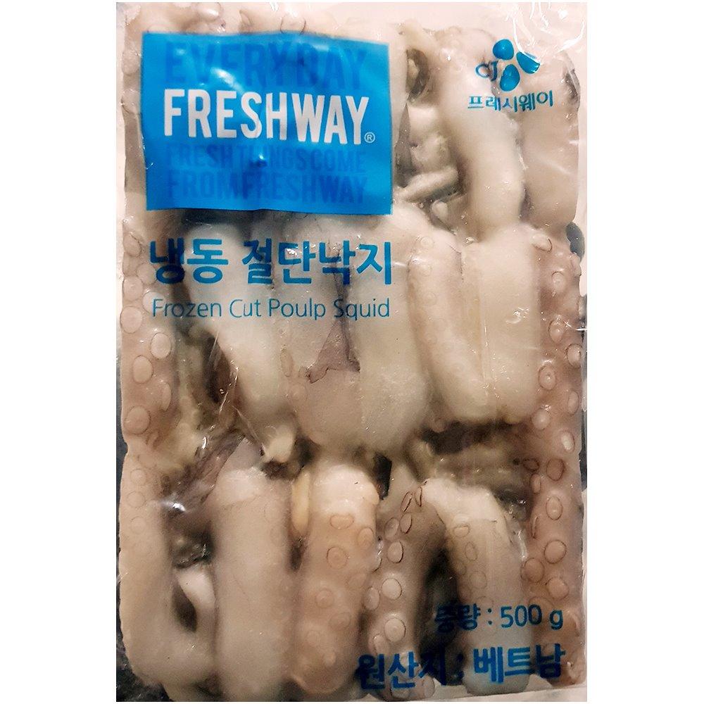 냉동 절단낙지 500g(M) 절단낙지 냉동수산물 수산물