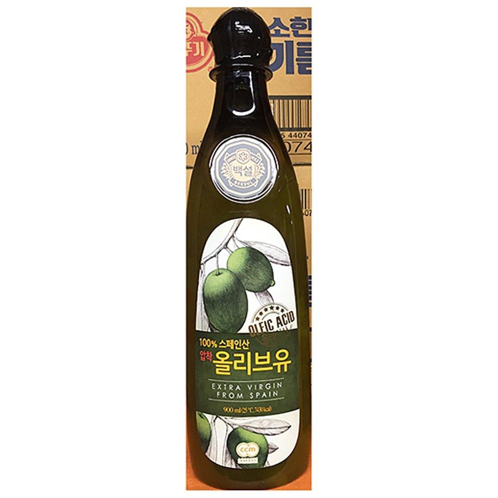 올리브유(백설 0.9L) 올리브유 올리브기름