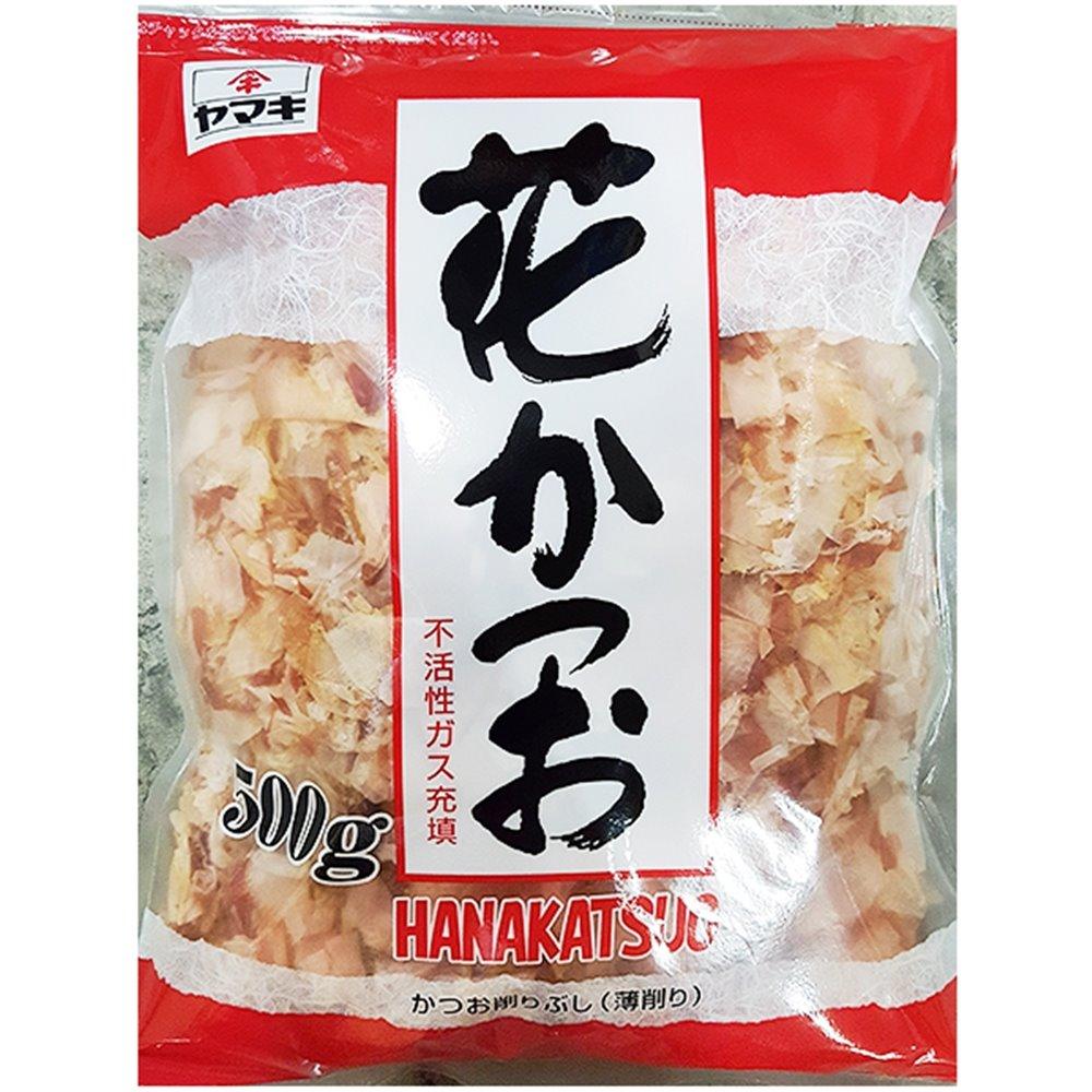 하나가쓰오부시(야마끼 500g)X4/Bonito/가다랑어/혼다시/가다랭이/식자재용/가쓰오부시국물