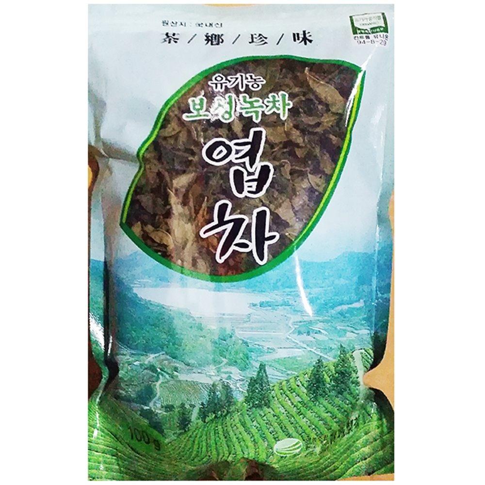 녹차잎(보성 100g) 녹차 잎녹차