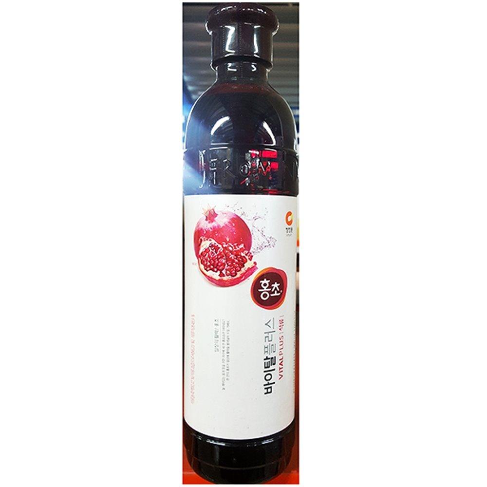 홍초(석류 대상 0.9L) 홍초 마시는홍초 석류홍초 음료베이스(액상)