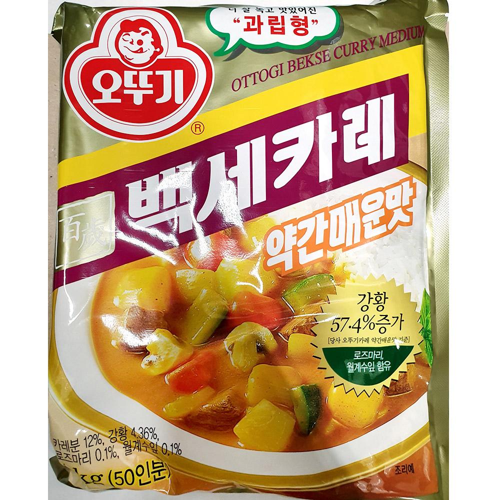 카레(백세 약간매운 오뚜기 1K) 카레약간매운맛