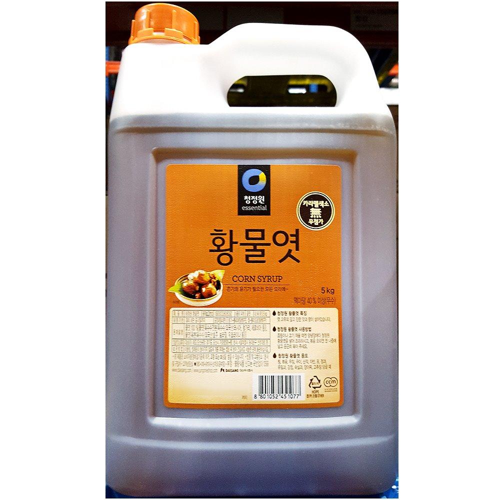 [더산식자재]황물엿(대상 5K)