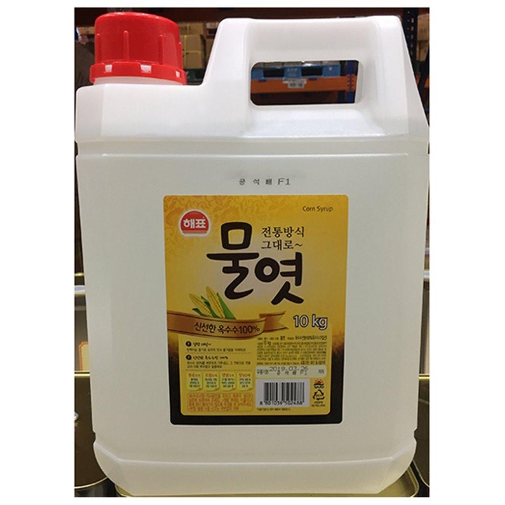 [더산식자재]흰물엿(해표 10k)