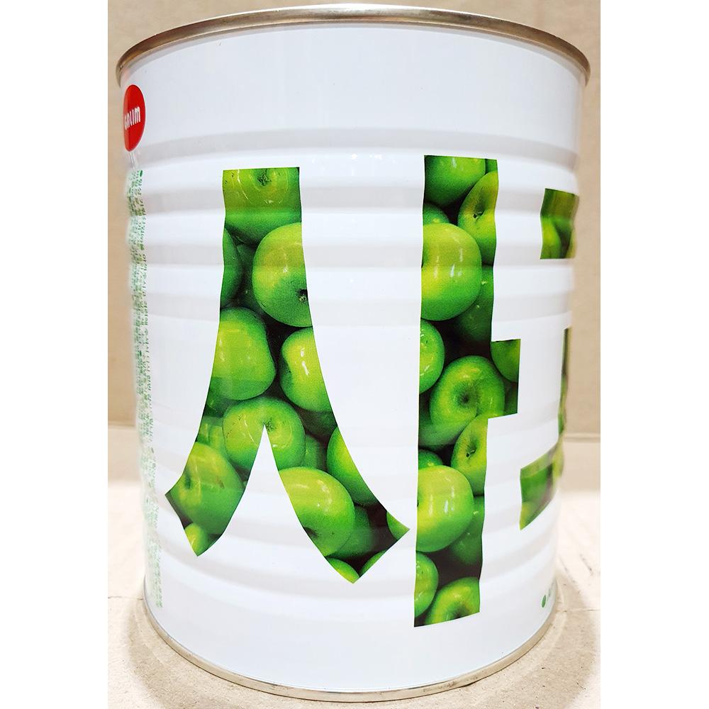 사과잼(가림산업 캔 3k) 잼 사과잼 캔 일회용비닐봉투
