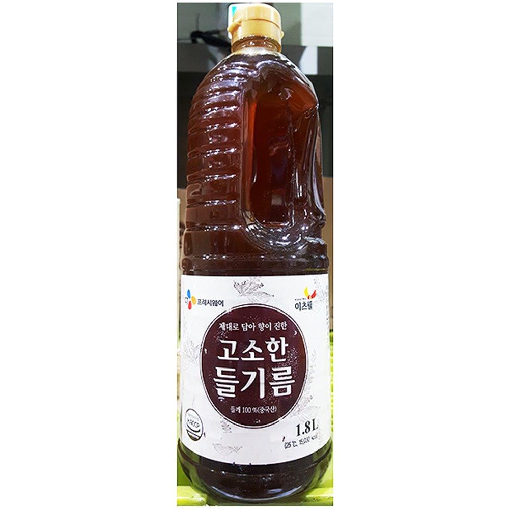 [더산식자재]들기름(이츠웰 1.8L)