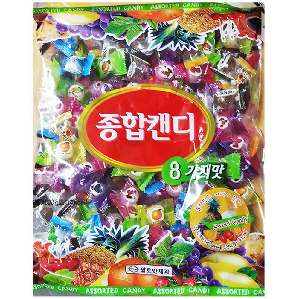 종합사탕(쌀로만 800g) 사탕 종합사탕 업소용사탕