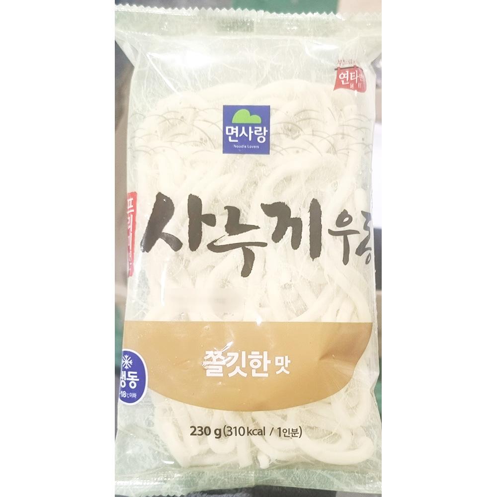 면사랑 사누끼 냉동우동면 230gX5 냉동우동면 냉동면 즉석식품 간식 분식재료