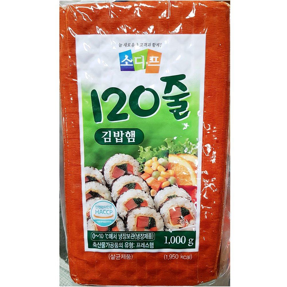 아이티알,ND 햄(김밥120줄 가닥 소디프 1k) X2