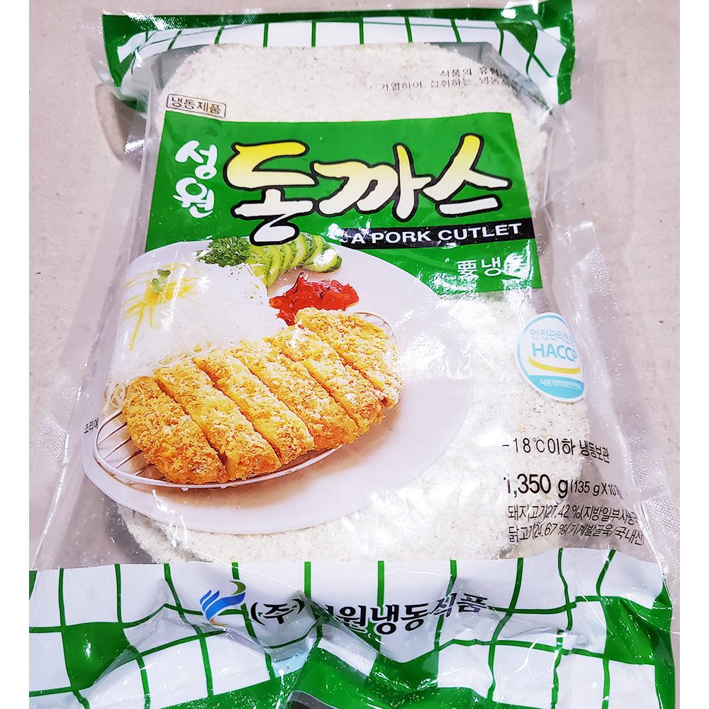 성원 돈까스(135gx10) 돈까스 즉석식품 간식 안주 분식재료