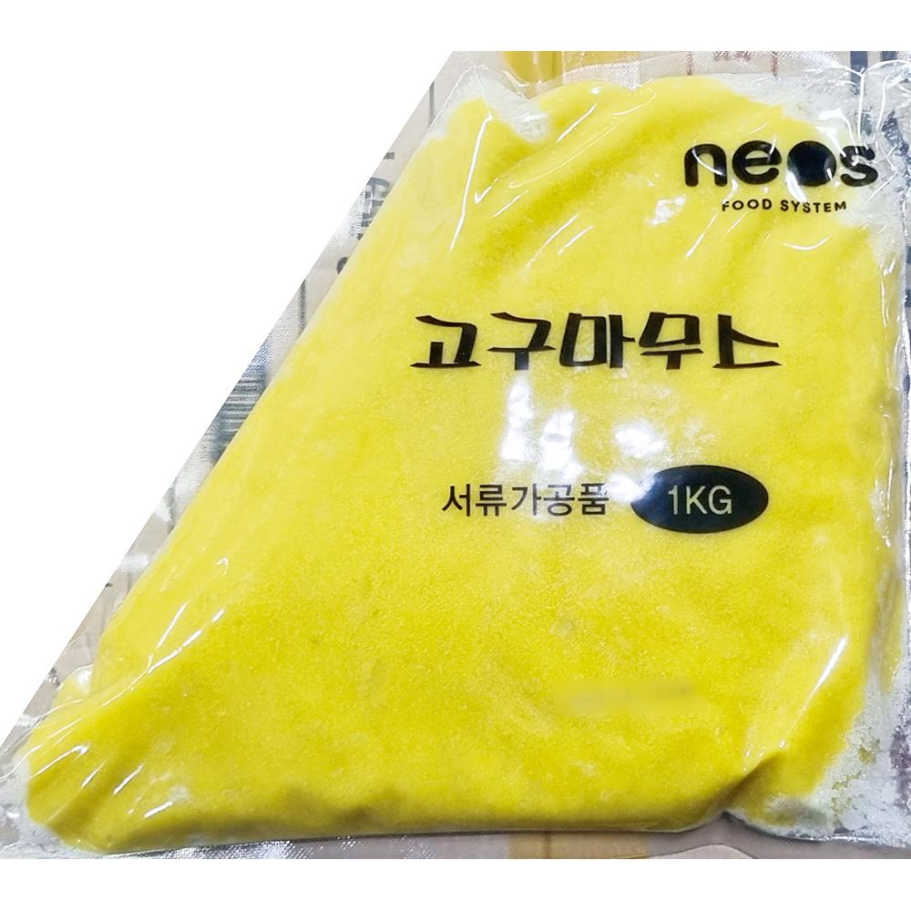 고구마무스(네오스 1K) 고구마크러스트 농산가공 즉석식품 간식 안주 분식재료