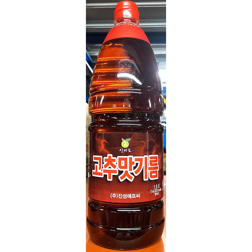 [더산식자재]고추맛기름(진성 1.8L)