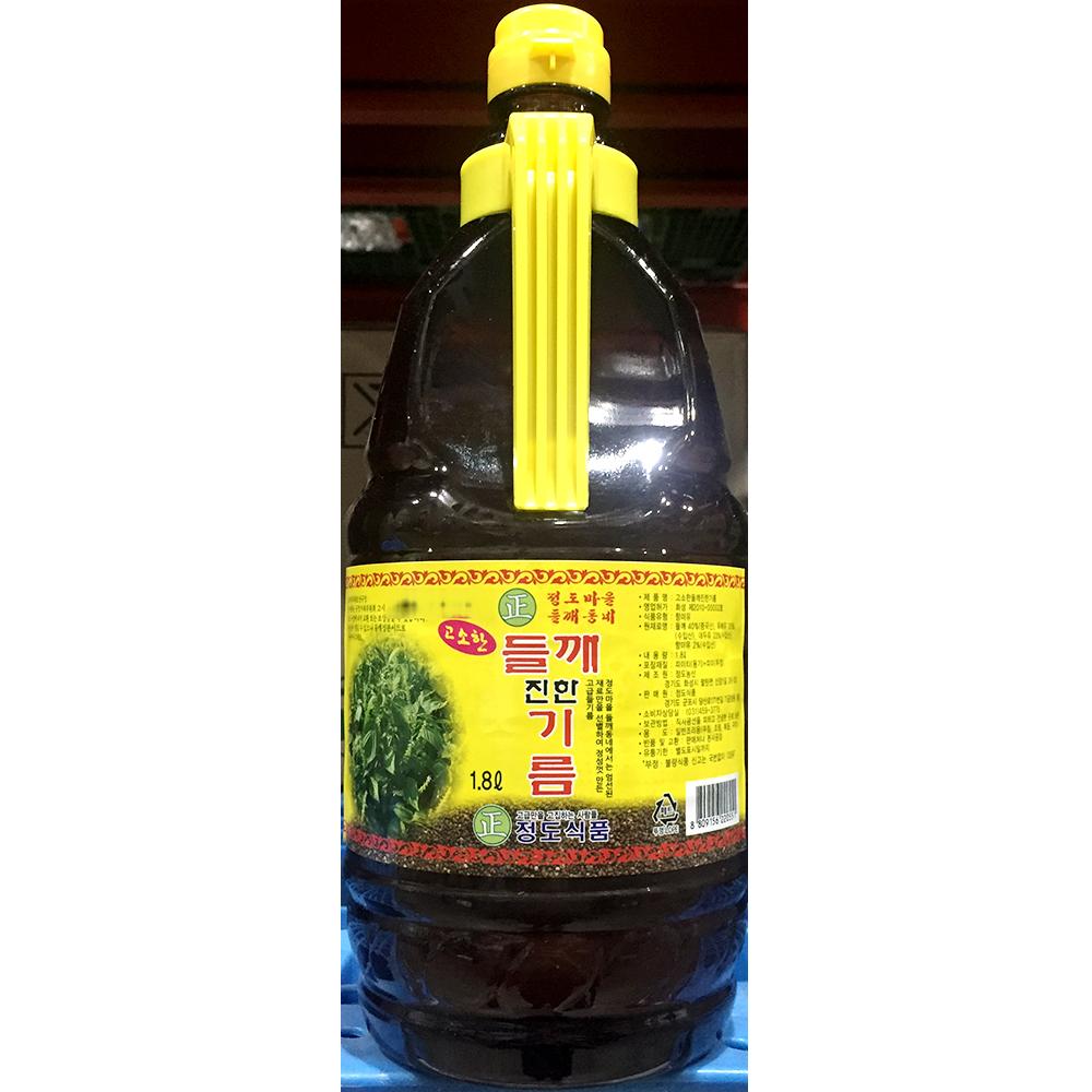 들향기름(정도 1.8L) 들기름 들맛기름 들향기름 들깨향기름 업소용들기름 맛기름