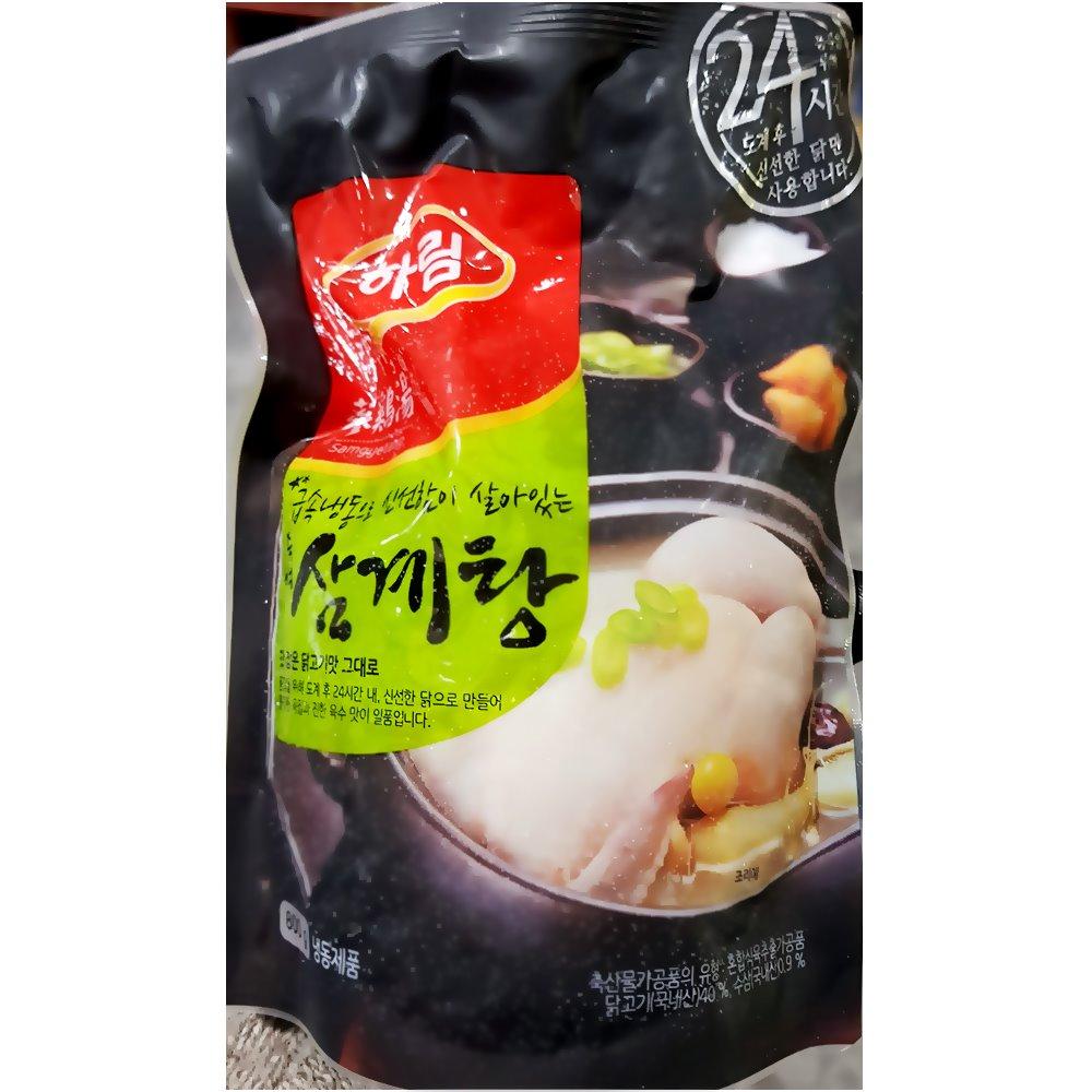 하림 유통용 삼계탕 800g 삼계탕 탕/조림 즉석식품 간식 안주