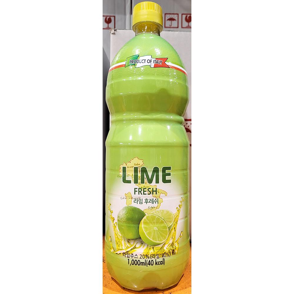 라임주스(농축 퍼시픽초이스 1L) 라임즙 레몬주스 라임 라임원액 라임엑기스 라임시럽 레몬즙 깔라만시
